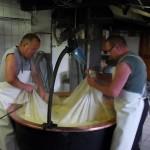 Fabrication du Gruyère d'alpage